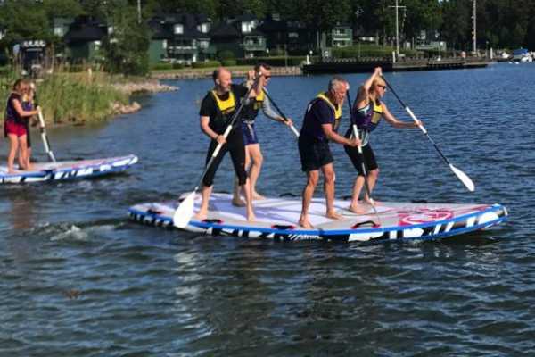 Puls Camp Åre Team SUP