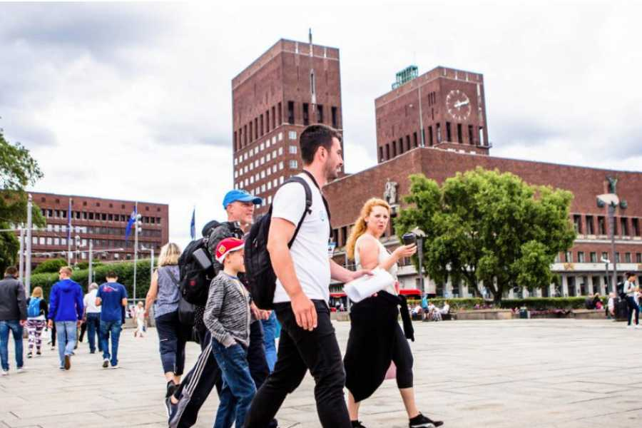 Viking Biking City Walk : Must Sees of Oslo