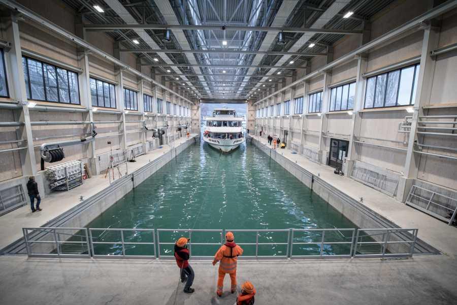 BLS AG, Schifffahrt Werftbesichtigung