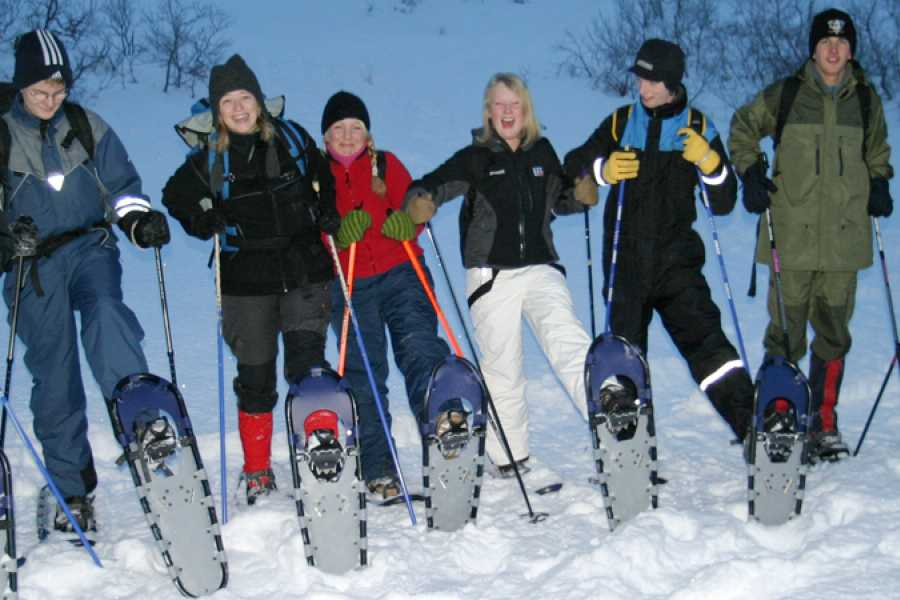 Lofoten Aktiv AS Snowshoe rental