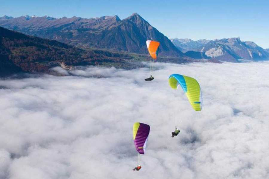 Paragliding Interlaken GmbH Ecommerce test booking