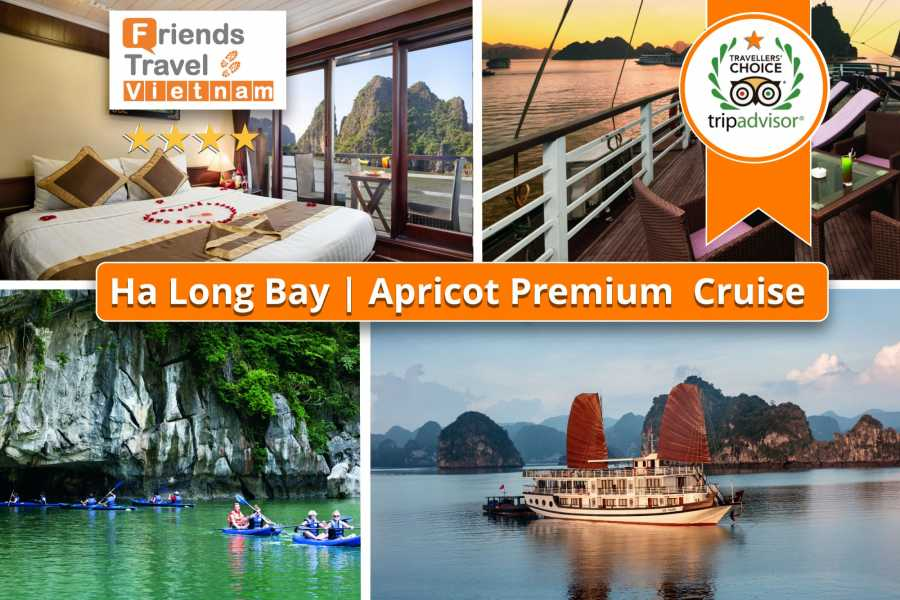 Friends Travel Vietnam Apricot Premium Cruise | Halong Bay 2D1N