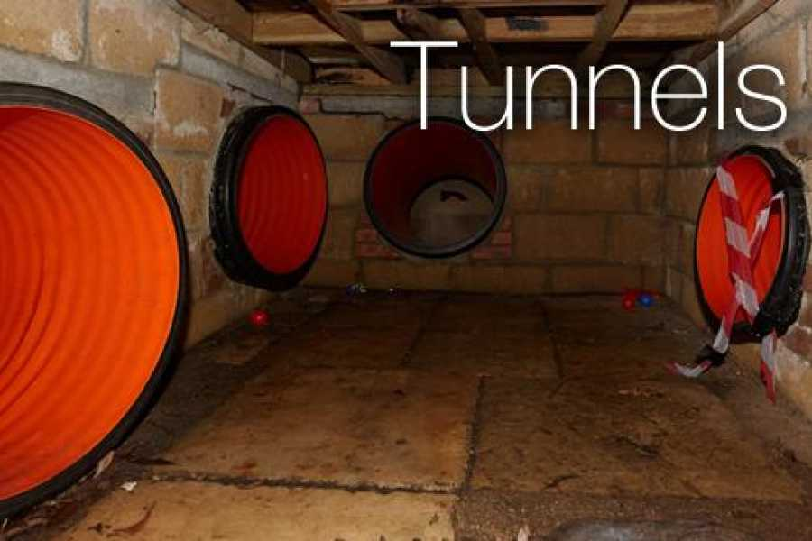 South Cerney Outdoor Group Booking Tunnels