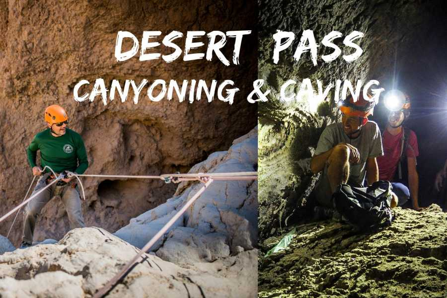 Wild-Trails Desert Pass - Canyoning and Caving Tours Package