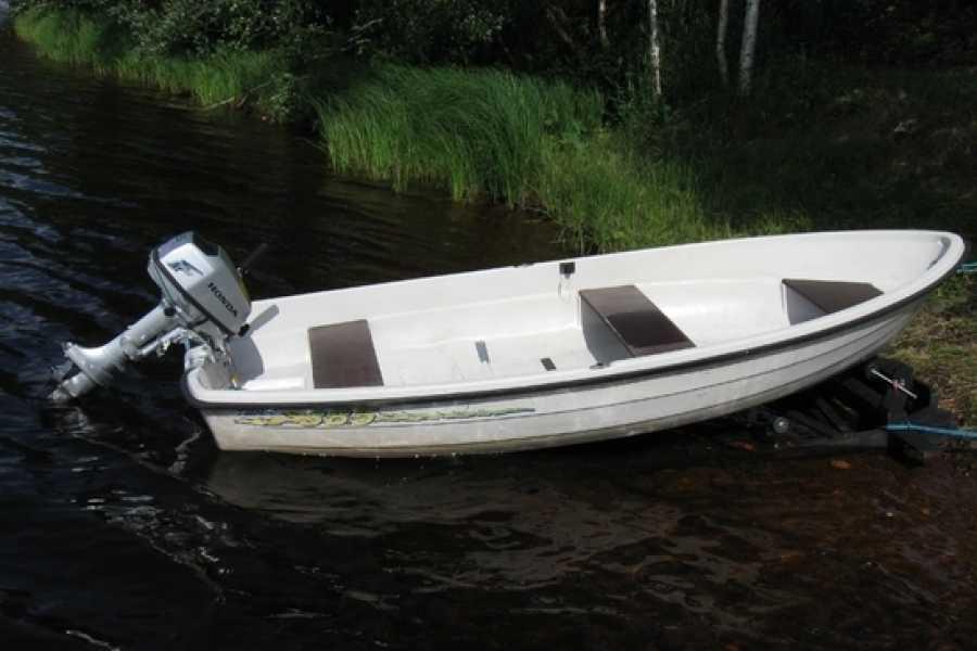 Hardanger Fjordsafari AS Utleigebåt med 4hk påhengsmotor