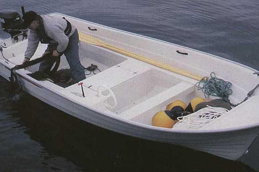 Hardanger Fjordsafari AS Utleigebåt med 10hk påhengsmotor