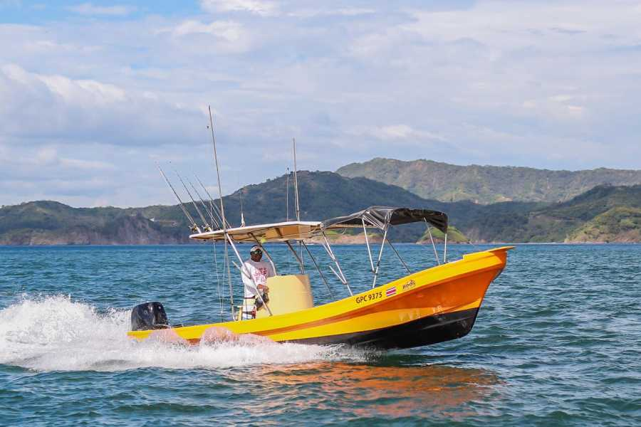 Tour Guanacaste Panga Fishing and Snorkeling ATV Tour