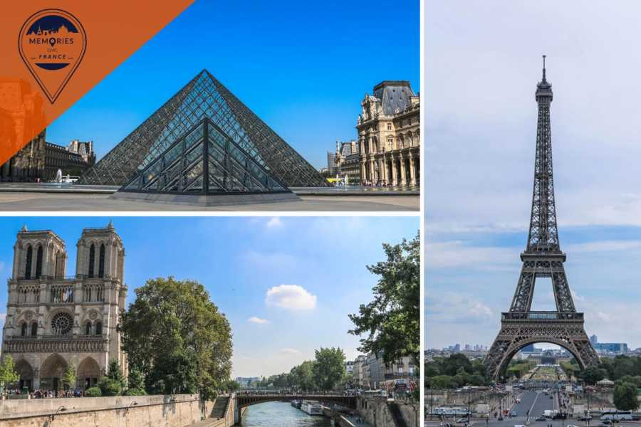 Memories DMC France Paris in One Day: the Louvre, Notre Dame, Seine River cruise & Eiffel Tower