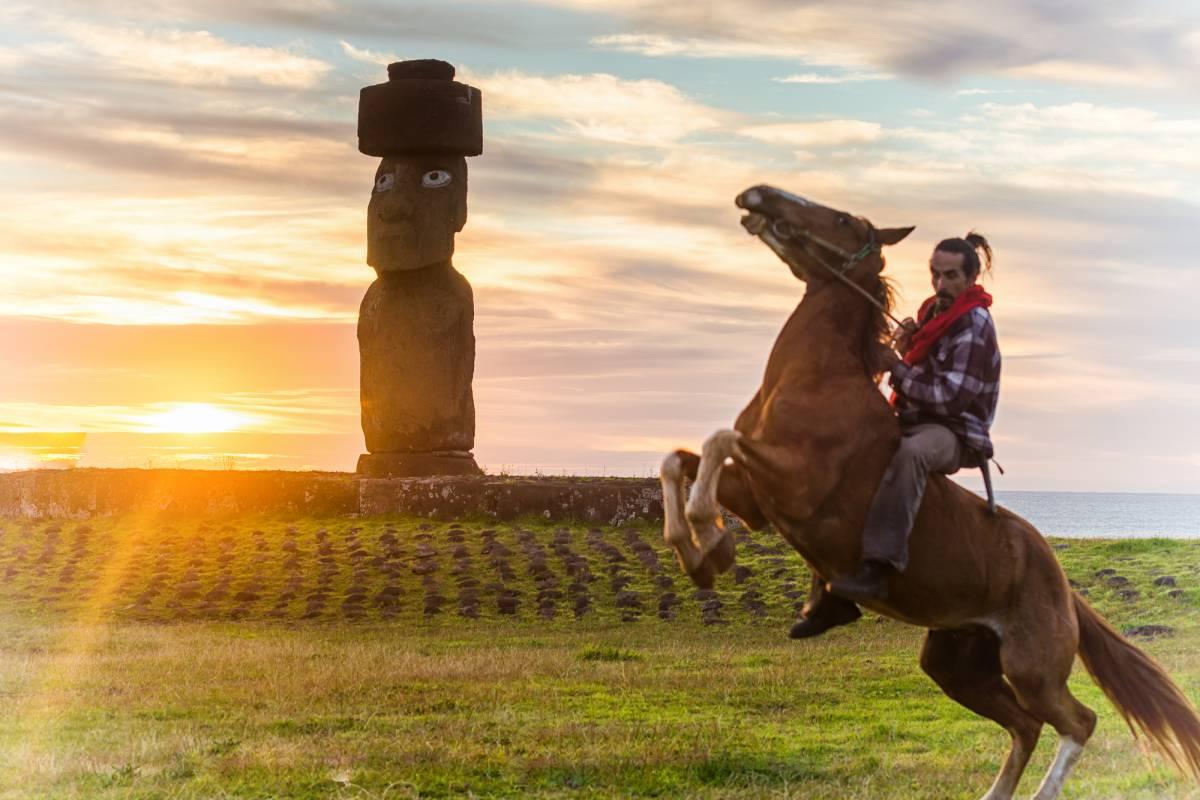 Green Island Tours - Easter Island Aventura Extrema - Cabalgata de Tres Días