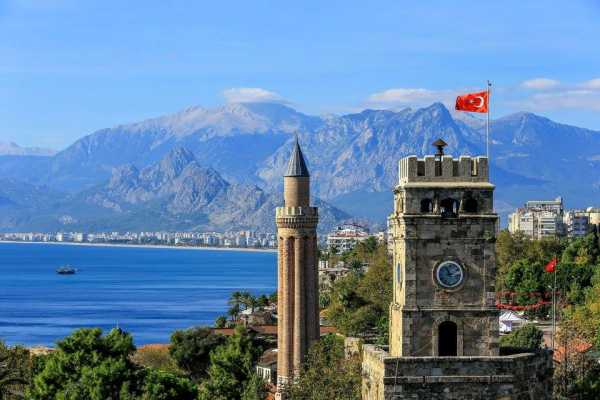 // Antalya City & Waterfalls Tour From Belek
