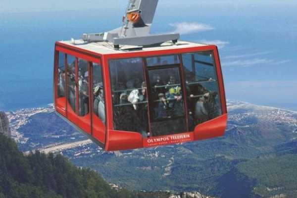 // Cable Car Ride from Belek