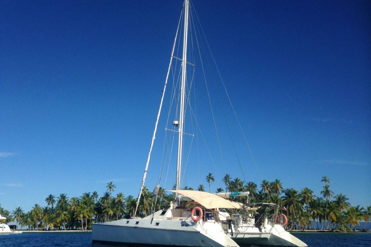 Cacique Cruiser BOAT TO PANAMA - Ti-Vaou 360 sailboat