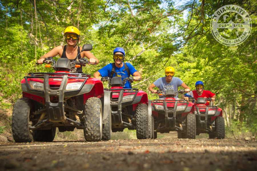 Tour Guanacaste Diamante Zip-Line and ATV Combo