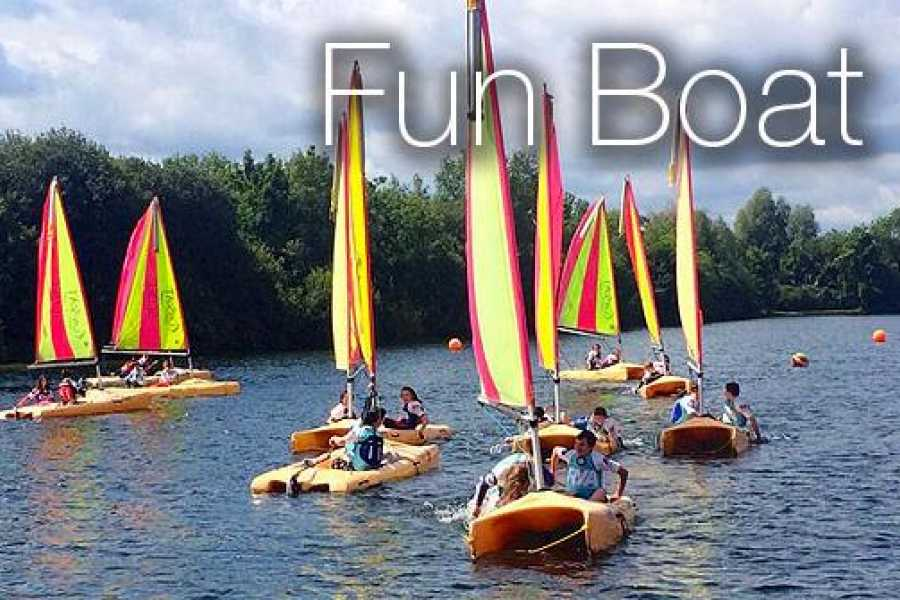 South Cerney Outdoor Group Booking Fun Boat