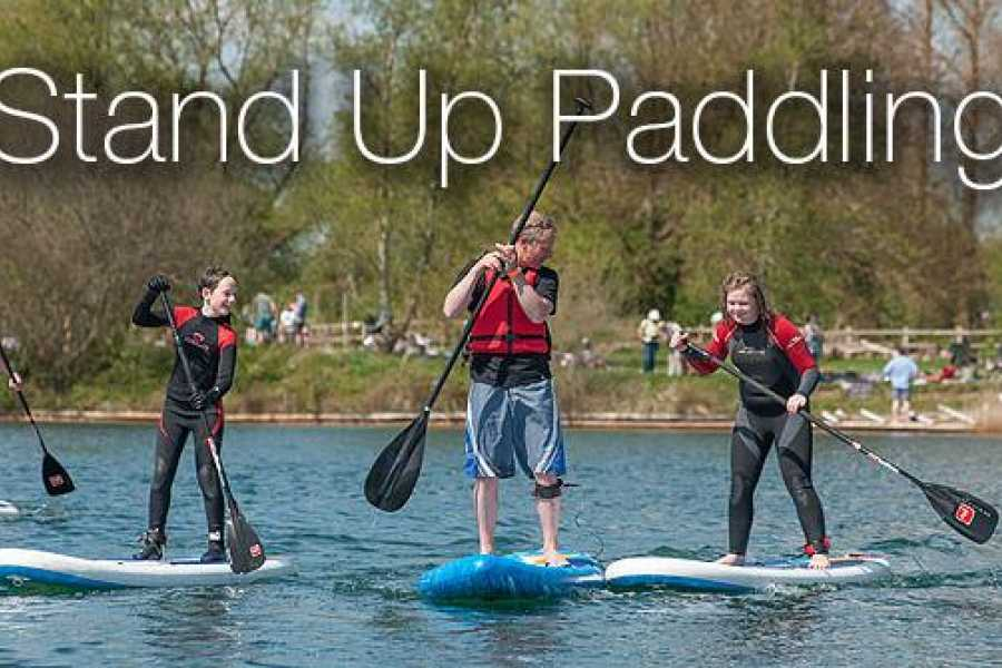 South Cerney Outdoor Group Booking SUP