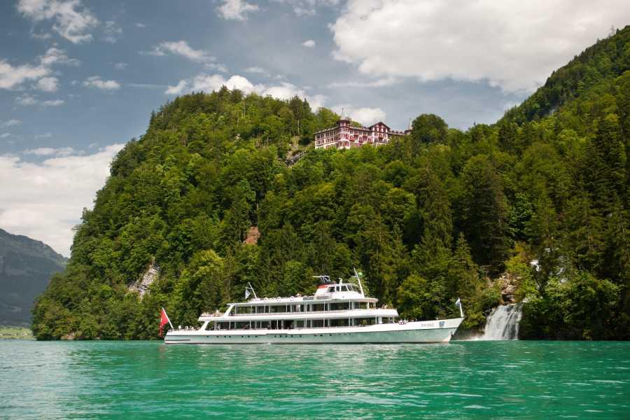 BLS AG, Schifffahrt Private Giessbachfälle Tour