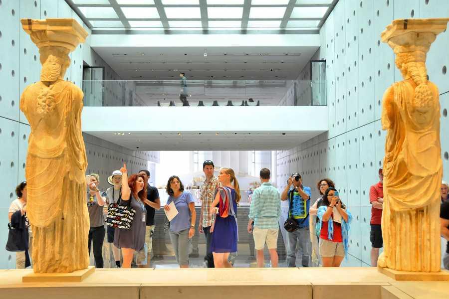Visit Meteora Acropolis and Acropolis Museum Tour