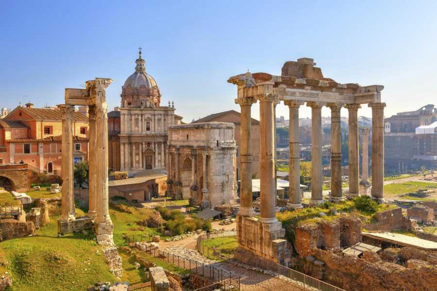 Real Rome Tours Colosseum Gladiator's Gate & Roman Forum Group Tour