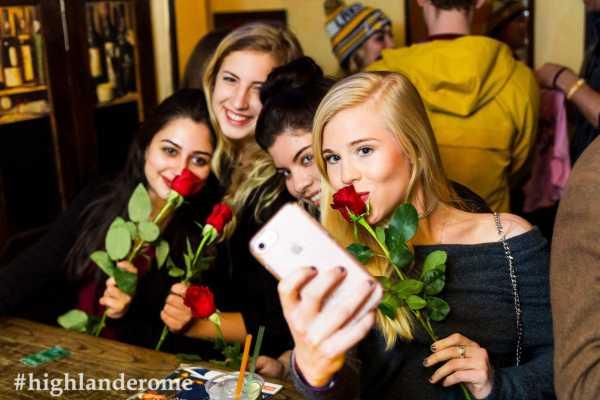 Best of Rome Ltd. St. Valentine's Day Traffic Light Party