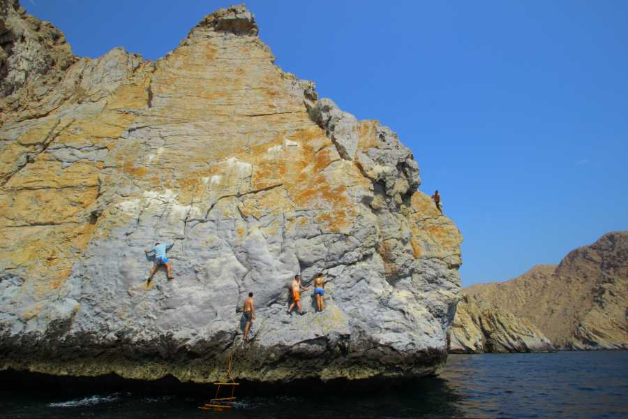 Absolute Adventure Deep Water Soloing