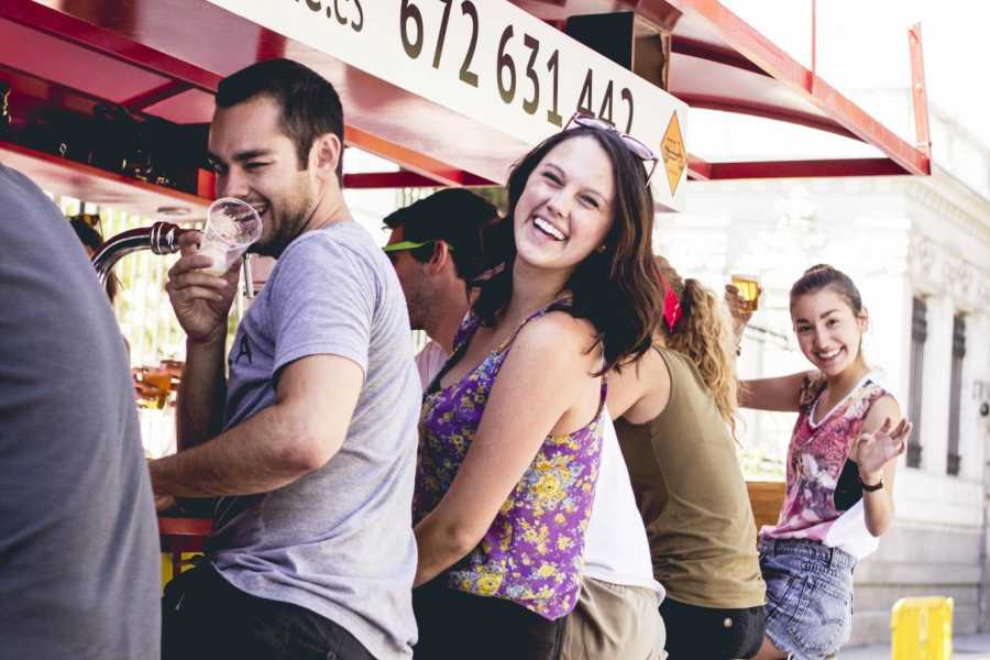 Urban Safari Tours Spot +  2PINTSbeer / sangría / soft drinks