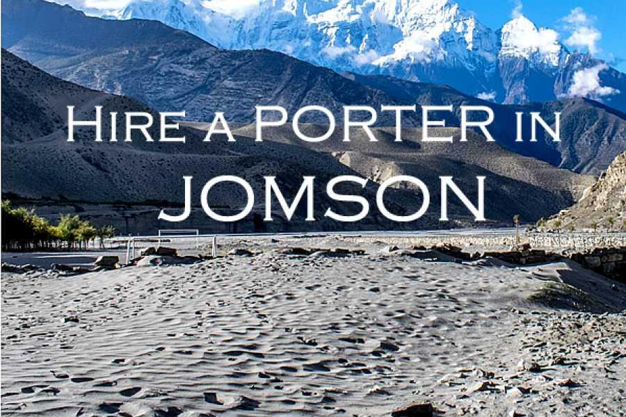 Last Second Group Ltd. Hire a PORTER in JOMSON