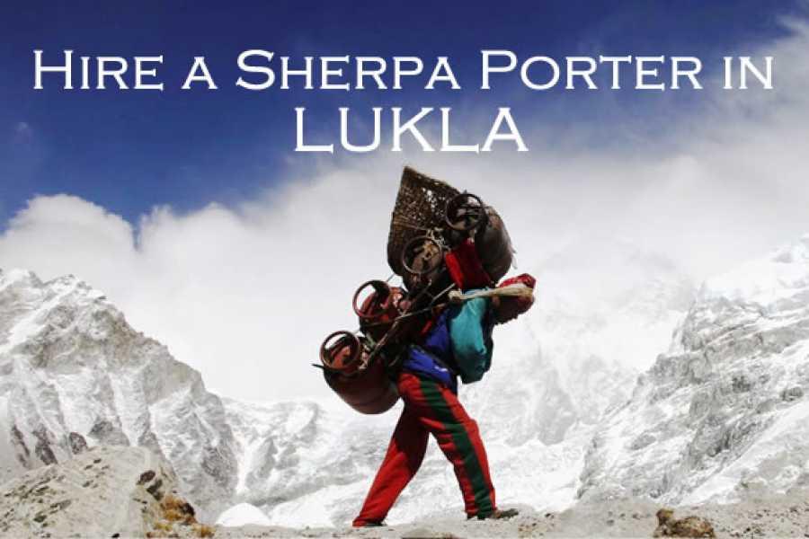 Last Second Group Ltd. SHERPA PORTER in LUKLA