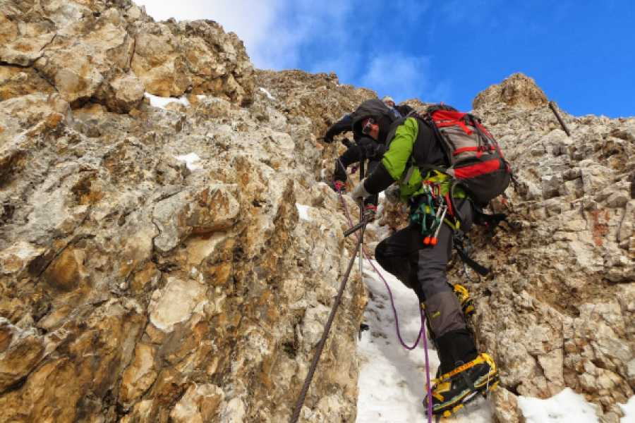 TRAVELSPORT Outdoor Activities VIA FERRATA MARMOLADA… A STEP FROM THE SKY