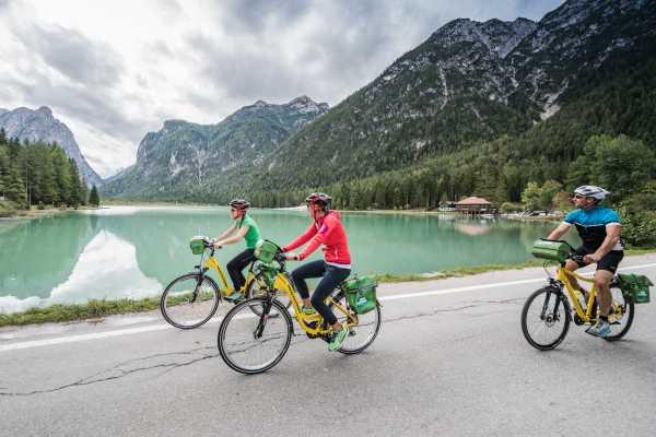 1 giornata in bicicletta in Alto Adige, punto di partenza Dobbiaco