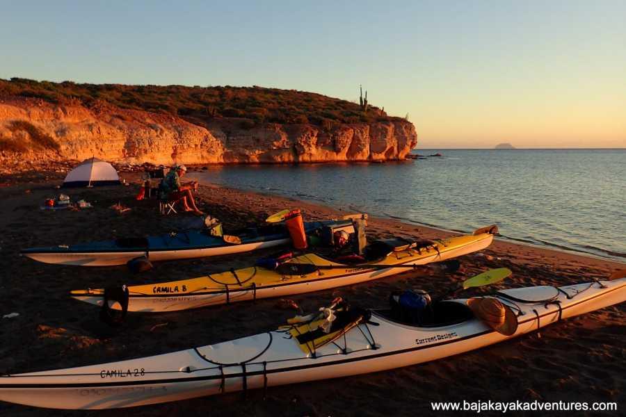 Baja Kayak Adventure Tours Ltd. WeCanoe Loreto to La Paz - 10 Day Kayak Expedition