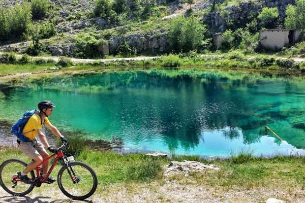Dalmatian inland MTB tour