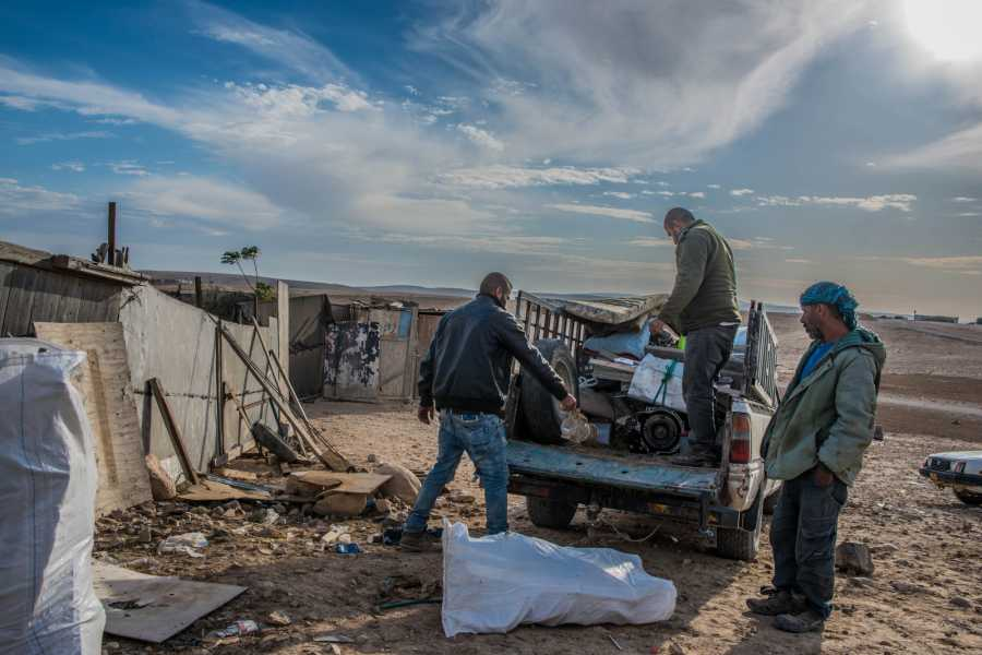Desert-Pass Conflict Tour of Hebron, West Bank
