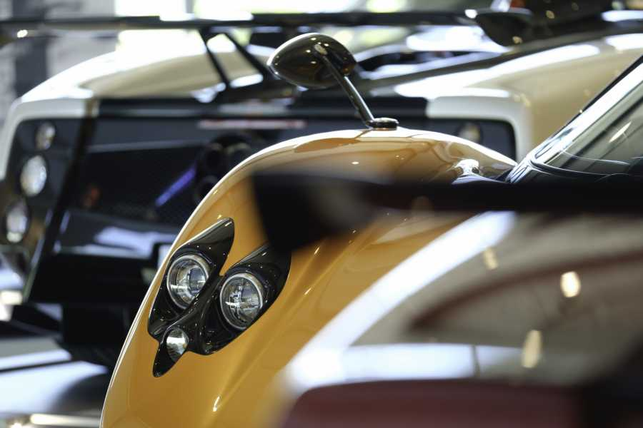 Modenatur Pagani factory and museum tour