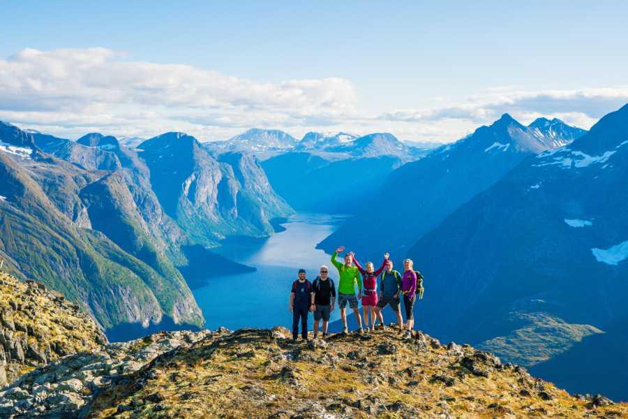 Molde Adventure Center Mountain hike