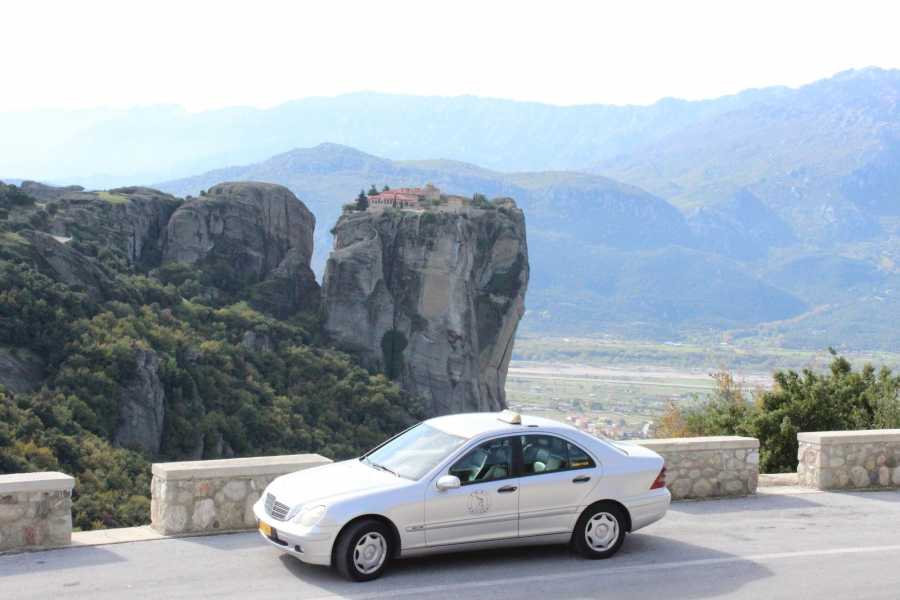 Visit Meteora Private Arrival Taxi Transfer: Kalambaka Railway or Bus Station to Hotel
