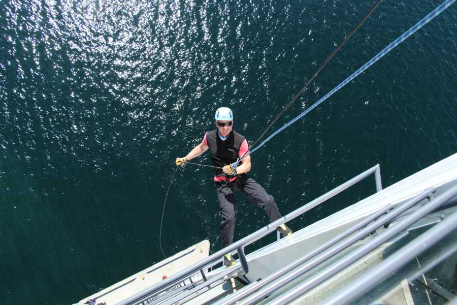 Molde Adventure Center Rappel on Scandic Seilet Hotel