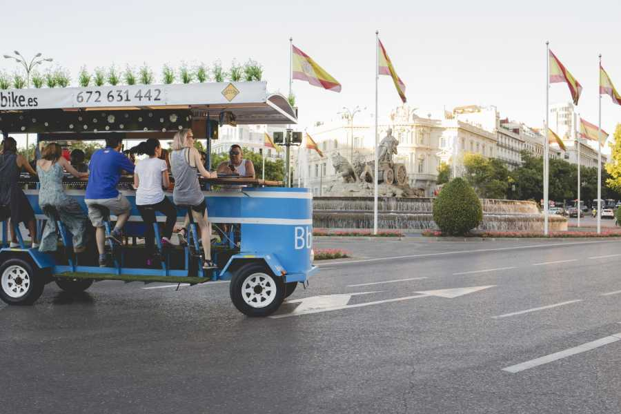 Urban Safari Tours Beer Bike 8-11 people + OPEN BAR beer + sangría + soft drinks