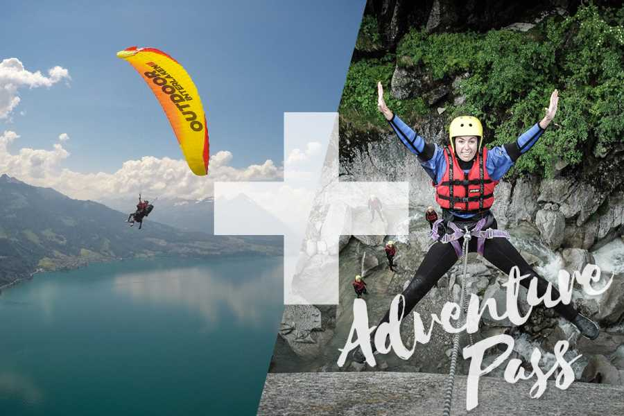 Outdoor Interlaken AG Splash and Fly: Canyoning Grimsel
