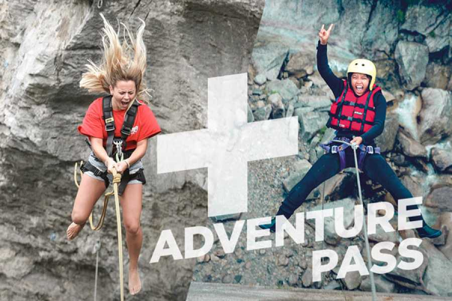Outdoor Interlaken AG 峡谷秋千+格里姆瑟尔河峡谷溪降(Adventure Pass: Canyon Swing + Canyoning Grimsel)