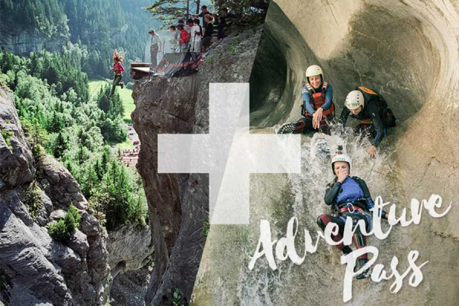 Outdoor Interlaken AG Adventure Pass: Canyon Swing + Canyoning Chli Schliere