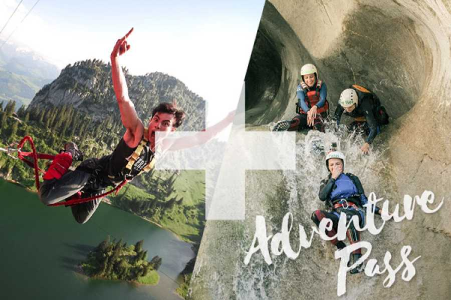 Outdoor Interlaken AG Adventure Pass: Bungy Stockhorn + Canyoning Chli Schliere