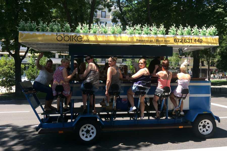 Urban Safari Tours Beer Bike 12-14 personas + CAVA