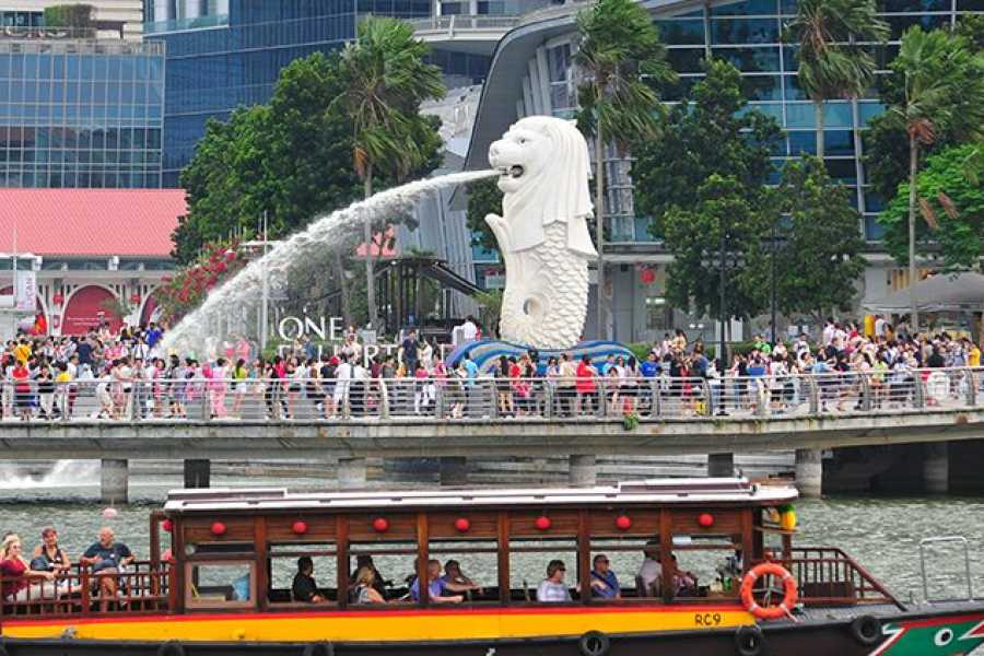 Society of Tourist Guides (Singapore) Singapore Tourist Guides (STG) Day Special - Singapore River Cruise
