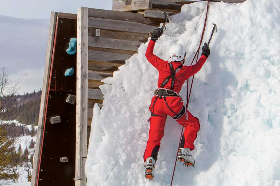 Velkommen til Vaset Ice Climbing
