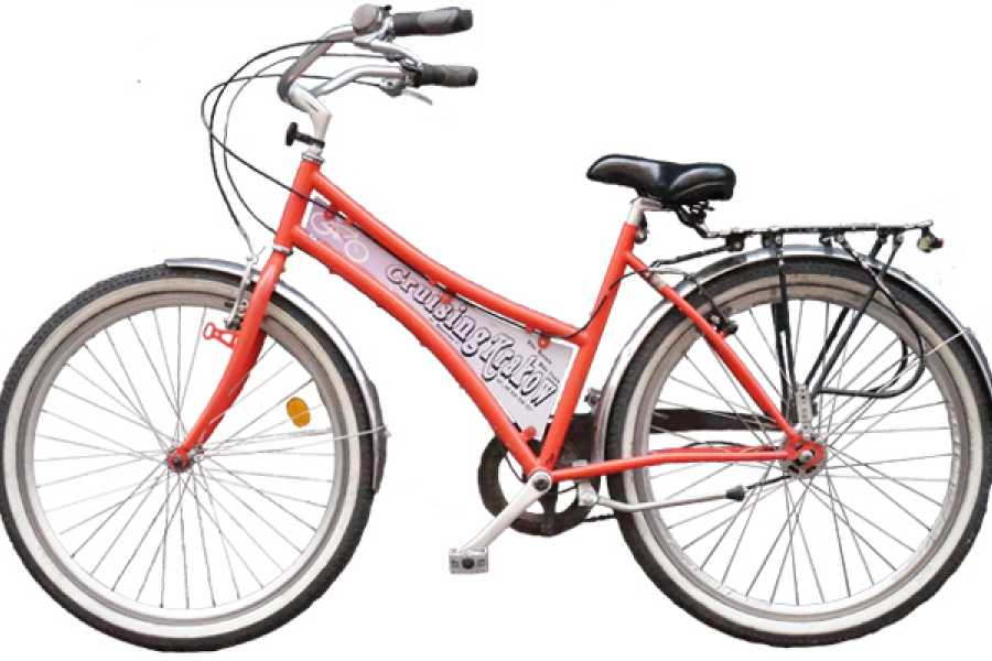 Cruising Krakow Tours & Rentals Beachcruiser City bike (womens)