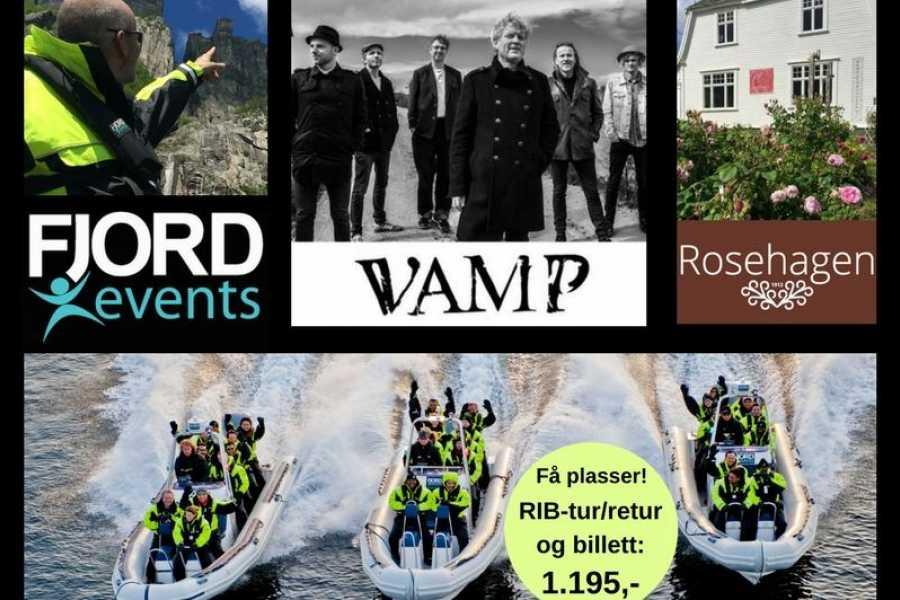 FjordEvents AS VAMP, RIB og ROSER