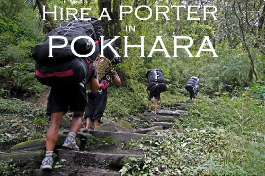 Last Second Group Ltd. Hire a PORTER in POKHARA