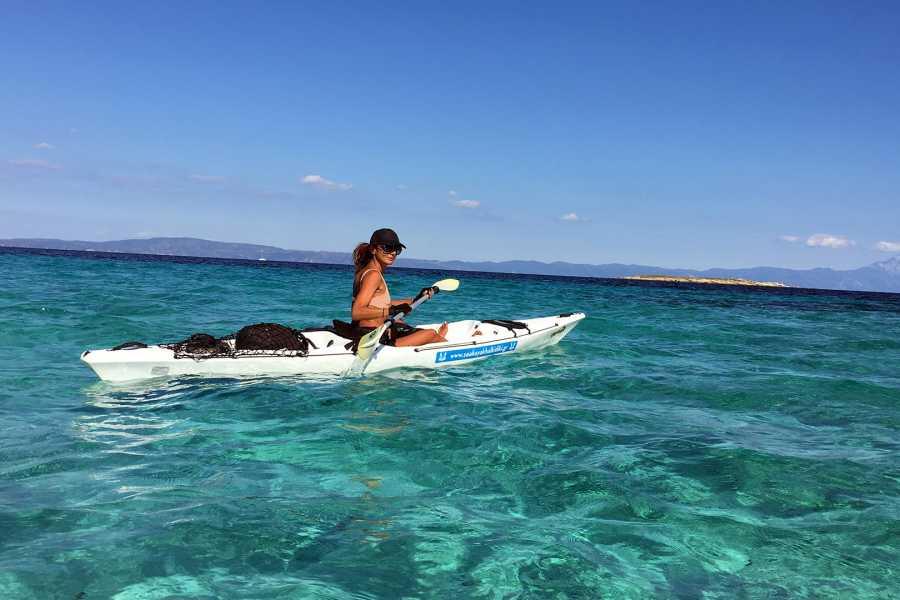 Grekaddict Sea Kayak Fishing Experience in Halkidiki
