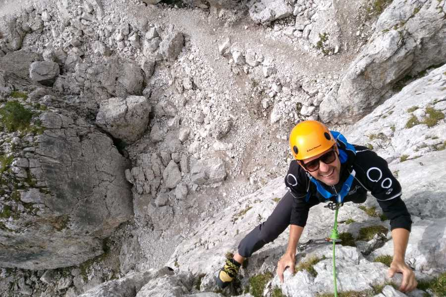 TRAVELSPORT Outdoor Activities SCOPRIAMO L'ARRAMPICATA IN CINQUE TORRI