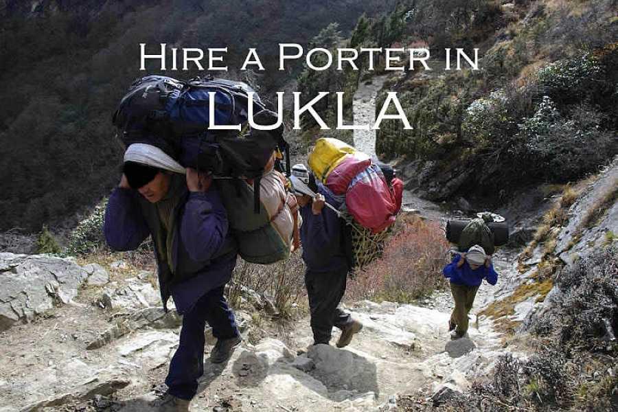 Last Second Group Ltd. Hire a PORTER in LUKLA